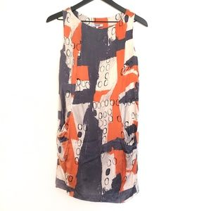 Moschino silk sheath dress with pockets